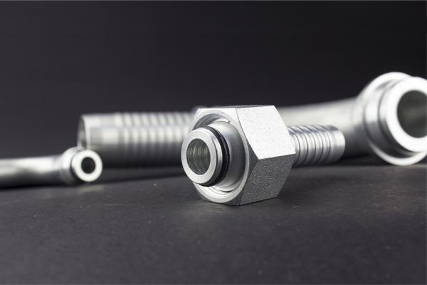 24 градусова конус Метрична резба стандартна DKOL DKOS хидравлична арматура